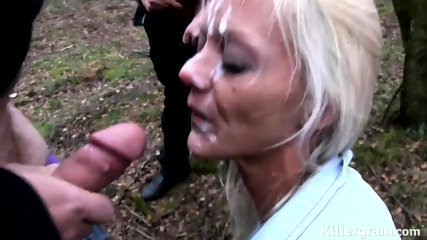 Cum On Real Slut's Face - scene 11
