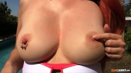 Redhead Nympho Lili Lou Gets Fucked - scene 2