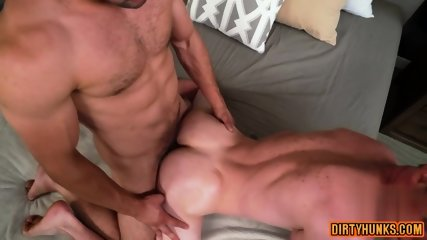 Muscle twink anal sex and facial8