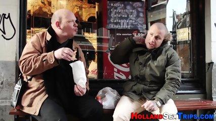 Hooker gets pussy plowed