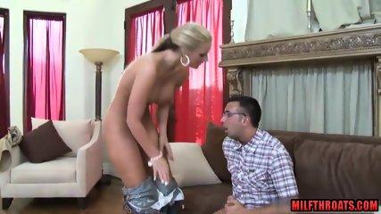 Big tits mom anal and cumshot