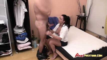 Big ass Eastern European fucked doggystyle