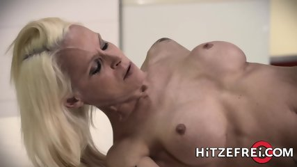 Stunning Blonde Milf Fucked In The Kitchen - scene 8