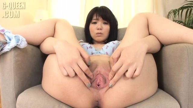 Asian Girl's Deep Vagina