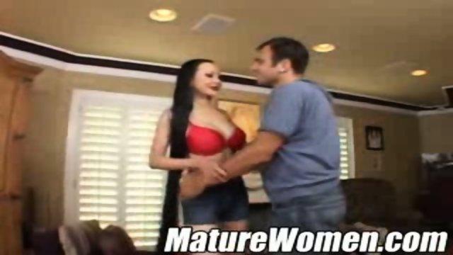 Asian MILF has big tits