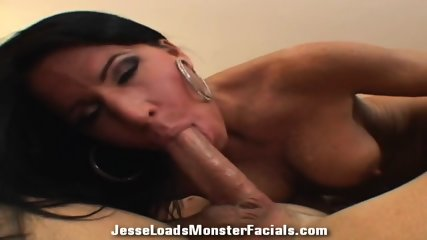Hot Brunette With Cum On Face - scene 7