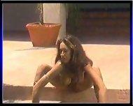 Nikki Nova showing her pussy - scene 2