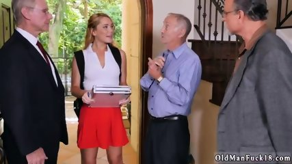 Gloves handjob Frannkie And The Gang Tag Team A Door To Door Saleswoman