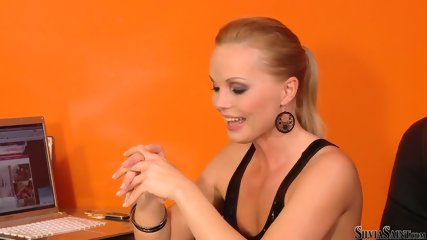 Bridget Shows Her Sexy Body At The Casting - scene 8
