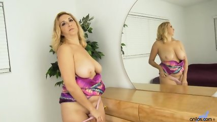 Busty Mommy With Dildo In Pussy - scene 2