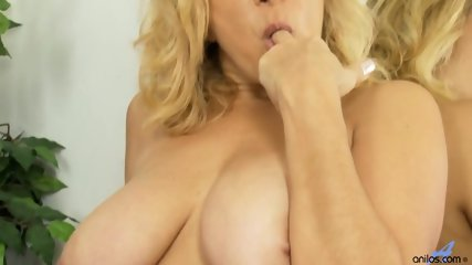 Busty Mommy With Dildo In Pussy - scene 7