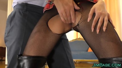 Teen banged by old guy