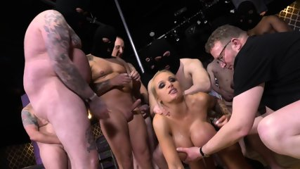 Busty Stripper Used By Group Of Horny Guys - scene 5