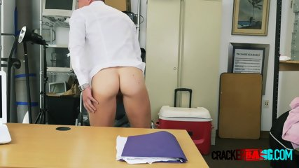 Slutty russian dude comes in for an interview and a hot bang