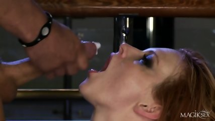 Cum Eating After Amazing Sex
