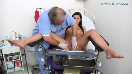 Kinky Doctor With Playful Fingers