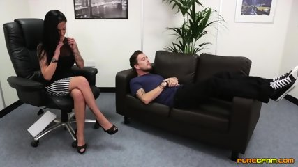 Two Elegant Whores Have Fun With Dick - scene 1