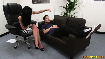 Two Elegant Whores Have Fun With Dick - scene 2