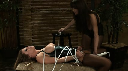 Tied Chick Gets Stimulated - scene 4