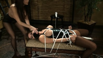 Tied Chick Gets Stimulated - scene 5
