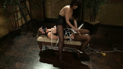 Tied Chick Gets Stimulated - scene 7
