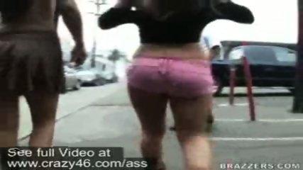 Mariah and Whitney walk around flashing their asses - scene 10