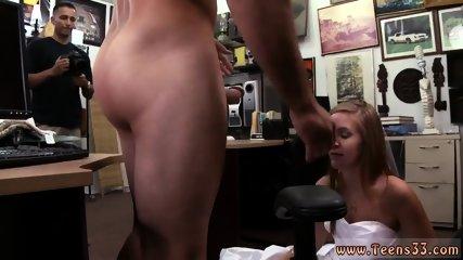 Teen dildo blowjob and hardcore strap on fuck A bride s revenge!