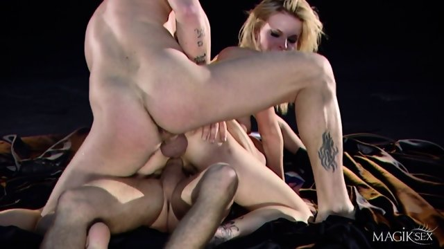 Two Hard Dicks For Tarra White