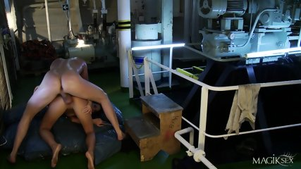 Hardcore Sex In Engine Room With Kortney Kane - scene 10