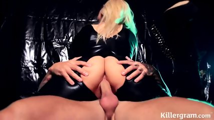 Victoria Summers In Latex Suit Rides Cock - scene 5