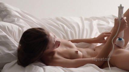 Magic Wand Stimulates Her Pussy - scene 9
