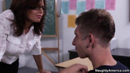 Veronica Avluv My First Sex Teacher - scene 1
