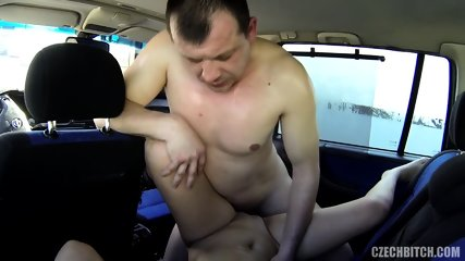 Bitch Gets Banged In Car - scene 11