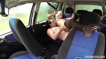 European Whore Fucked In The Car - scene 9