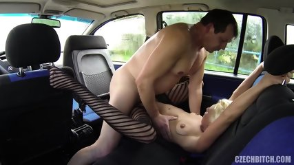 European Whore Fucked In The Car - scene 11