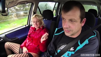 European Whore Fucked In The Car - scene 12