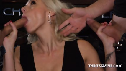 Private.com Horny Milf Rides A Threesome With DP - scene 4