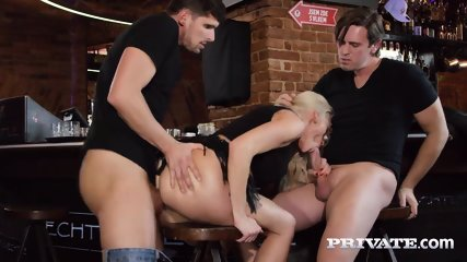 Private.com Horny Milf Rides A Threesome With DP - scene 7
