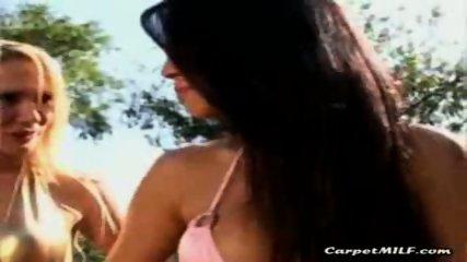 Lesbian MILFs teasing 5 - scene 3
