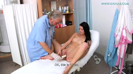 Kinky Doctor Touches Her Pussy - scene 8