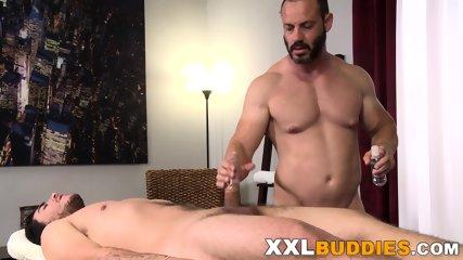 Masseur rides big cock - scene 8