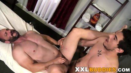 Masseur rides big cock - scene 12