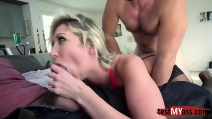 Hot pornstar dp and cumshot - scene 6