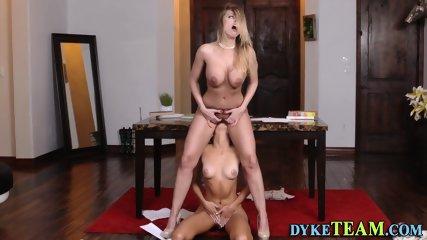 Ass rimming milf lesbian - scene 8