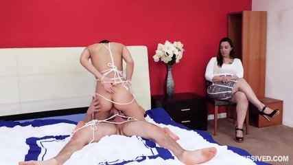 Slave Fucked In Front Of Kinky Lady - scene 10