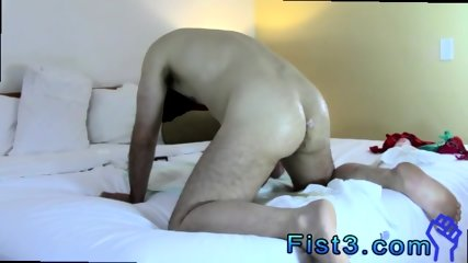 Male faking fisting gay men big cocks Bottom Boy Aron Loves Getting his... - scene 12