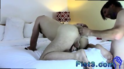 Male faking fisting gay men big cocks Bottom Boy Aron Loves Getting his... - scene 6