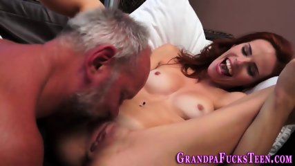 Teen spermed by gramps - scene 10