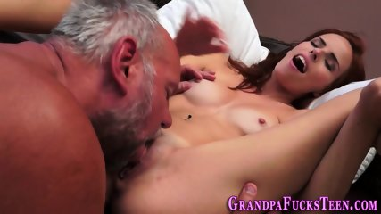 Teen spermed by gramps - scene 11