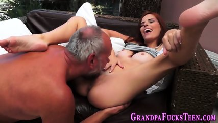 Teen spermed by gramps - scene 3